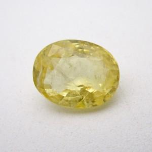 7.52 Carat/ 8.34 Ratti Natural Ceylon Yellow Sapphire (Pukhraj) Gemstone