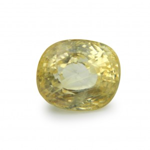 7.54 Carat/ 8.36 Ratti Natural Ceylon Yellow Sapphire (Pukhraj) Gemstone