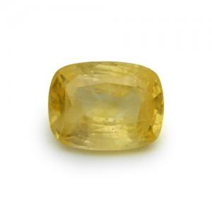 7.65 Carat/ 8.50 Ratti Natural Ceylon Yellow Sapphire (Pukhraj) Gemstone