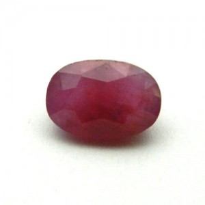 7.68 Carat/ 8.52 Ratti Natural African Ruby (Manik) Gemstone
