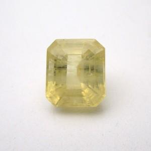 7.87 Carat/ 8.73 Ratti Natural Ceylon Yellow Sapphire (Pukhraj) Gemstone