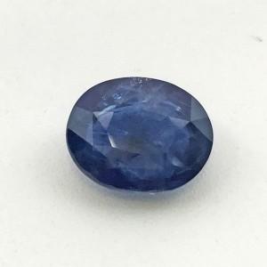 5.88 Carat  Natural Transparent Blue Sapphire (Neelam) Gemstone