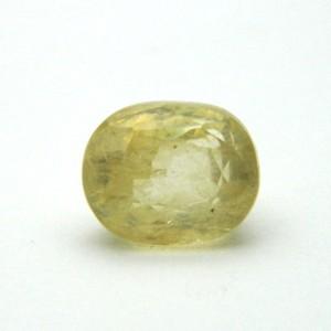 8.16 Carat/ 9.05 Ratti Natural Ceylon Yellow Sapphire Gemstone