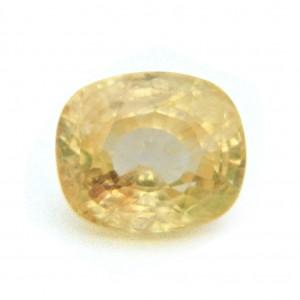 8.42 Carat/ 9.34 Ratti Natural Ceylon Yellow Sapphire Gemstone