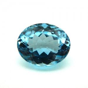 9.09 Carat/ 10.10 Ratti Natural Blue Topaz Gemstone