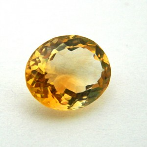 4.48 Carat/ 4.97 Ratti Natural Citrine (Sunela)  Gemstone