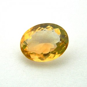 5.17 Carat/ 5.73 Ratti Natural Citrine (Sunela)  Gemstone