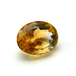 5.28 Carat/ 5.86 Ratti Natural Citrine (Sunela)  Gemstone