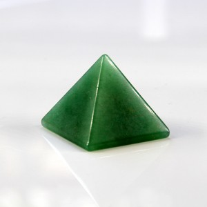 Natural Green Aventurine Quartz Crystal Pyramid