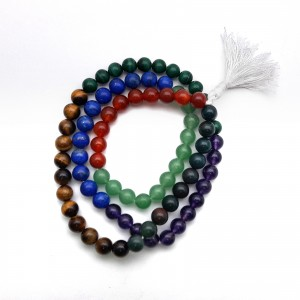 Best Quality Natural Seven Chakra Mala String (24 Inch)