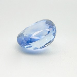 6.97 Carat  Natural Blue Sapphire (Neelam) Gemstone