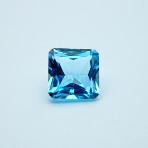 4.44 Carat  Natural Blue Topaz Gemstone