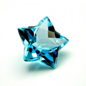 9.67 Carat  Natural Blue Topaz Gemstone