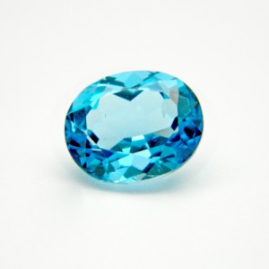 6.38 Carat  Natural Blue Topaz Gemstone