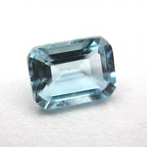 1.95 Carat/ 2.16 Ratti Natural Blue Topaz Gemstone