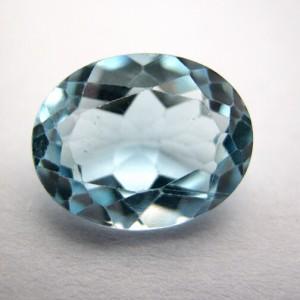 3.03 Carat/ 3.36 Ratti Natural Blue Topaz Gemstone
