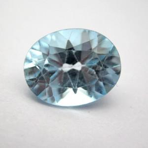3.21 Carat/ 3.56 Ratti Natural Blue Topaz Gemstone