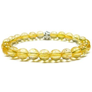 Natural Citrine Gemstone Bracelet