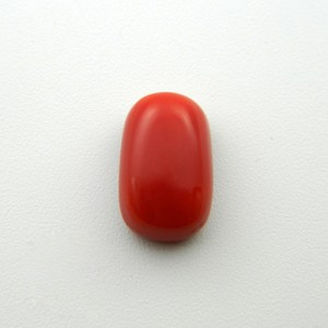 7.44 Carat/ 8.26 Ratti Natural Italian Coral (Moonga) Gemstone