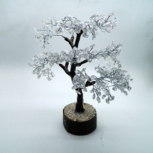 Rock Crystal Gemstone Tree