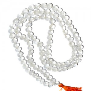 Rock Crystal (Sphatik) Mala