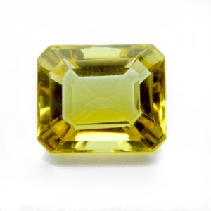 3.91 Carat/ 4.34 Ratti Natural Citrine (Sunela)  Gemstone