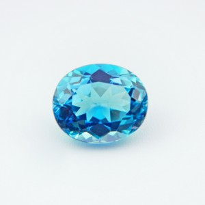 5.86 Carat  Natural Blue Topaz Gemstone