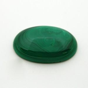 24.68 Carat  Natural  Malachite Gemstone