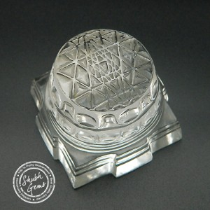 Natural Rock Crystal Shree Yantra