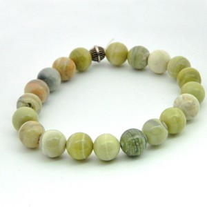 Serpentine Gemstone Bracelet
