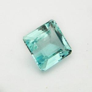 5.71 Carat Octagon Step Natural Aquamarine Gemstone