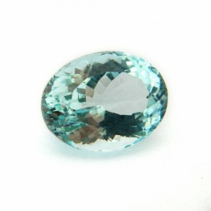 7.1 Carat/ 7.88 Ratti Natural Aquamarine Gemstone