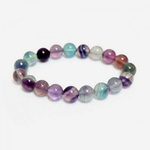 Natural Fluorite Gemstone Bracelet
