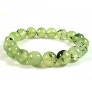 Natural Prehnite Gemstone Bracelet