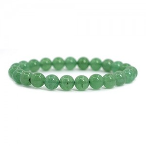 Natural Aventurine Quartz  Gemstone  Bracelet