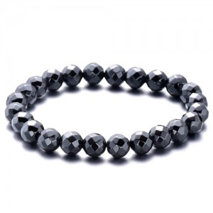 Natural Hematite Gemstone Bracelet
