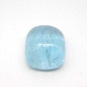 9.53 Carat Cushion Cabochon Natural Aquamarine Gemstone