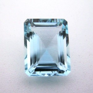 5.65 Carat  Octagon Step Natural Aquamarine Gemstone