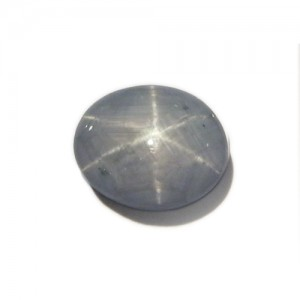7.45 Carat  Oval Cabochon Natural Star Sapphire from Sri Lanka