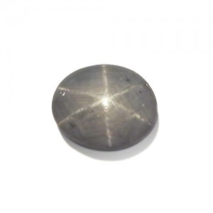 5.70 Carat  Oval Cabochon Natural Star Sapphire from Sri Lanka