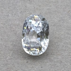4.67  Carat  Natural White  Zircon Gemstone