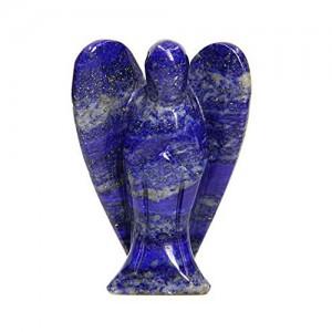 Natural Lapis Lazuli Lucky Soul Healing Angel Figure