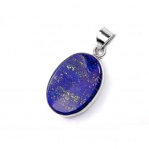 Natural Lapis Lazuli Crystal Pendant