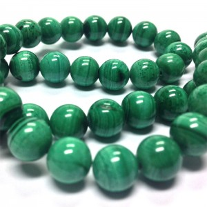 Natural Malachite AAA Quality Gemstone Beads String