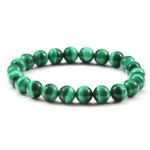 Natural Malachite Gemstone Bracelet