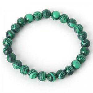 Malachite Gemstone Bracelet