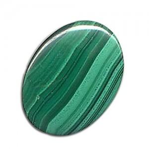 30.02 Carat  Natural  Malachite Gemstone