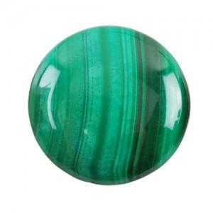 16.87 Carat  Natural  Malachite Gemstone
