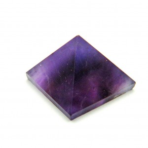 Natural Amethyst Crystal Pyramid