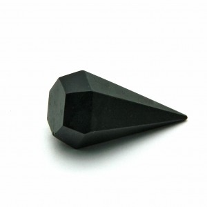 Natural Black Tourmaline Pendulum Point